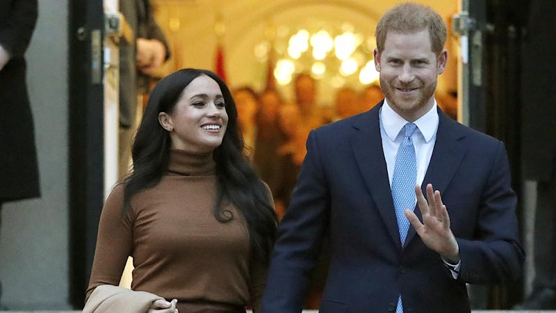 Harry and Meghan will no longer use their royal titles