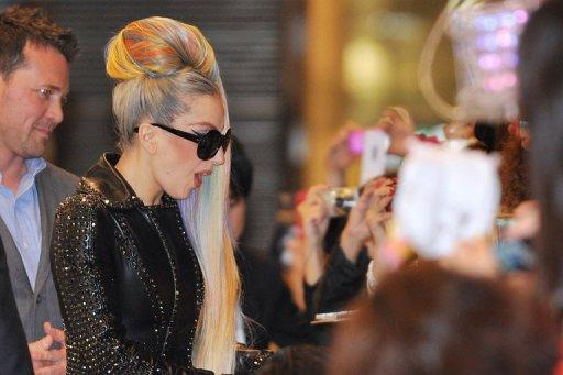 Lady Gaga is on a tour of Asia