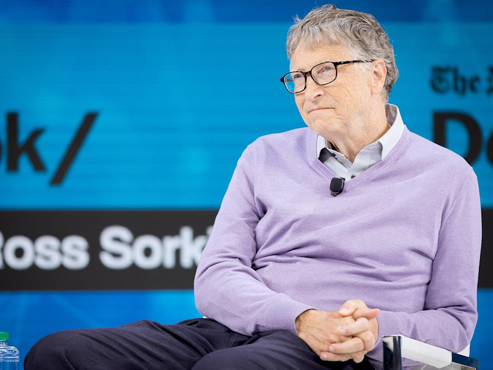 Bill Gates and his wife Melinda announced their intention to divorce earlier this month (Getty Images for The New York Ti)