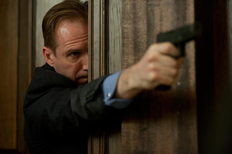"""Ralph Fiennes in Columbia Pictures' """"Skyfall"""" - 2012"""
