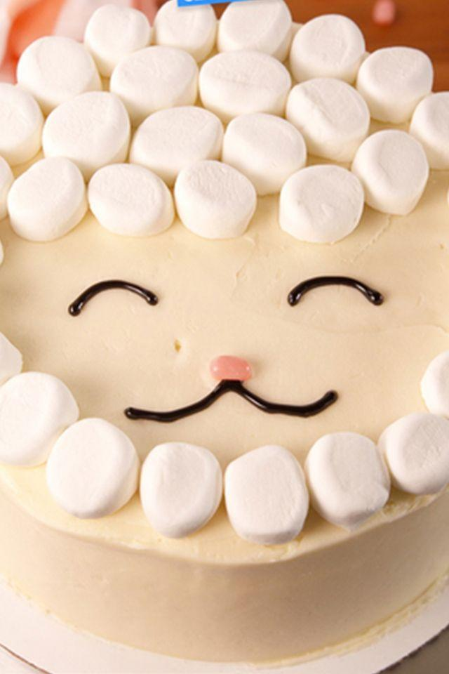 "<p>This super-sweet lamb cake is <em>perfect</em> for Easter, and really anytime you're craving marshmallows. </p><p><a href=""http://www.delish.com/cooking/videos/a52471/easy-lamb-cake-video/"" rel=""nofollow noopener"" target=""_blank"" data-ylk=""slk:Get the recipe from Delish »"" class=""link rapid-noclick-resp""><em>Get the recipe from Delish »</em></a></p>"