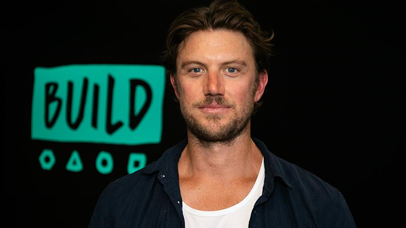 The Aussie actor has turned into an international romcom hunk after starring in Netflix movie, Falling Inn Love. Photo: BUILD