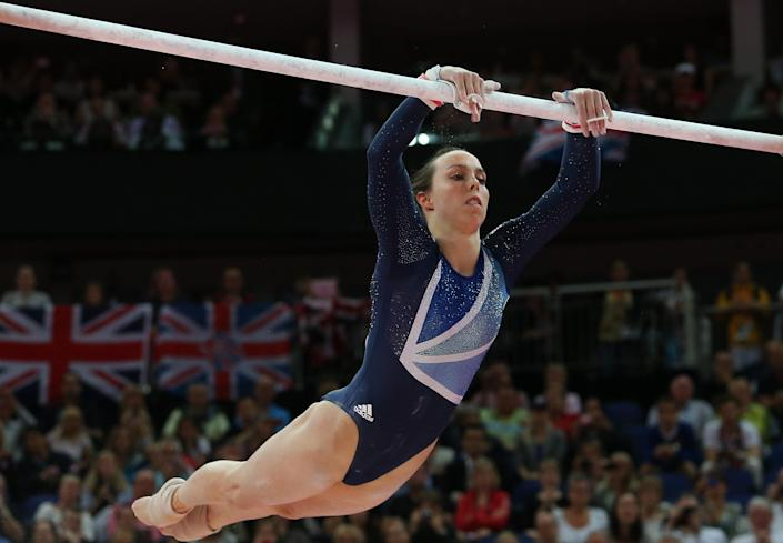 Beth Tweddle in action at London 2012 (Getty Images)