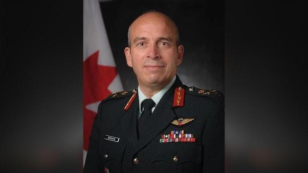 Brig.-Gen. Simon Bernard has been removed from his role in the vaccine rollout. (Network for Strategic Analysis - image credit)