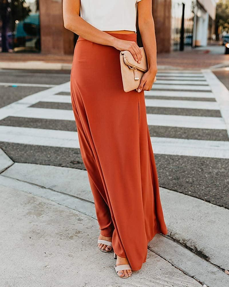 <p>Pair this <span>Imily Bela High-Waisted Chiffon Flowy Skirt</span> ($26) with a crop top.</p>