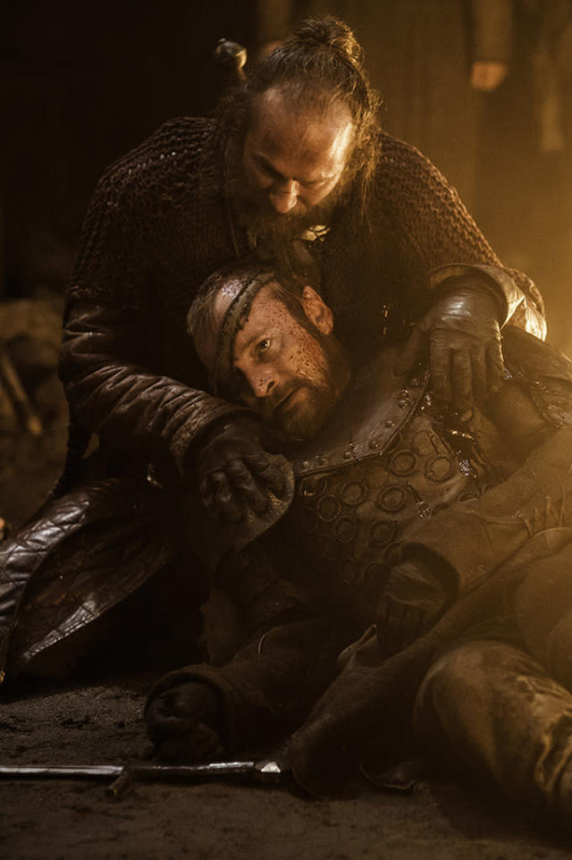 """Paul Kaye and Richard Dormer in the """"Game of Thrones"""" Season 3 episode, """"Kissed by Fire."""""""