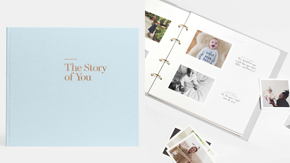 Gifts for new parents: The Story of You Baby Book