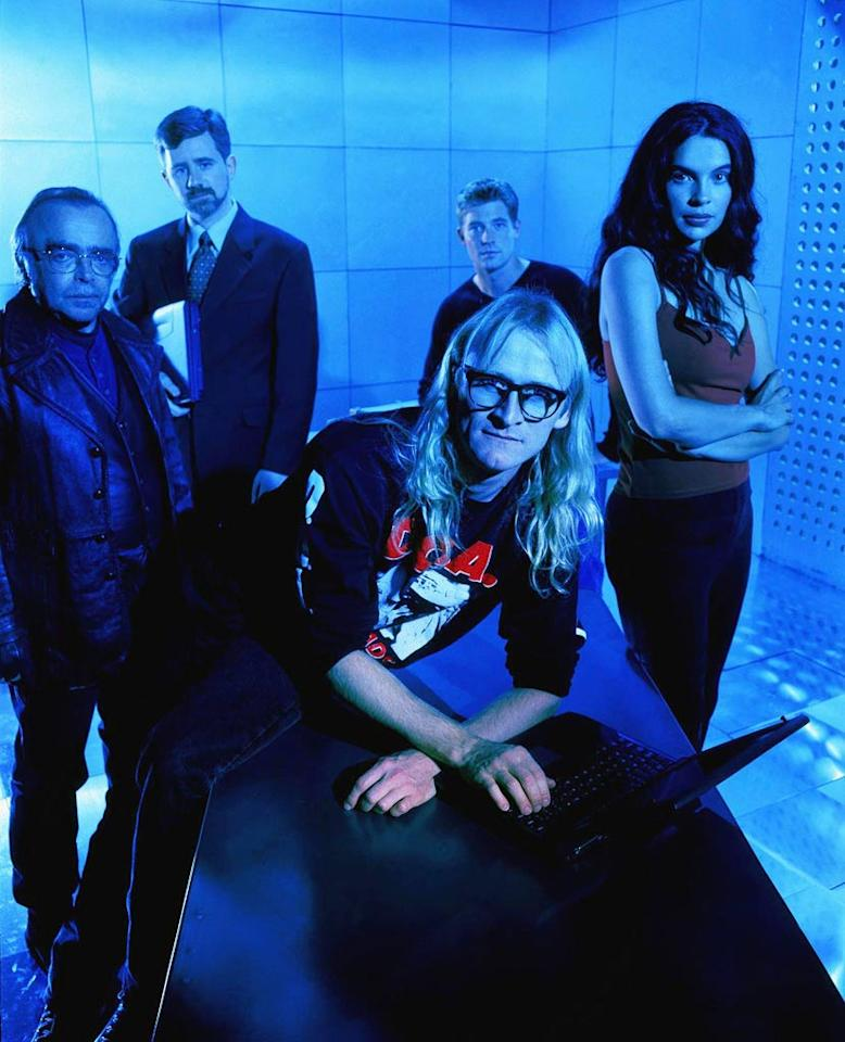 """""""<a href=""""/the-lone-gunmen/show/31806"""">The Lone Gunmen</a>"""" was first broadcast in March 2001 and, despite positive reviews, its ratings dropped. Fox moved the show to Friday midway through its first and only season. The program was canceled after thirteen episodes."""
