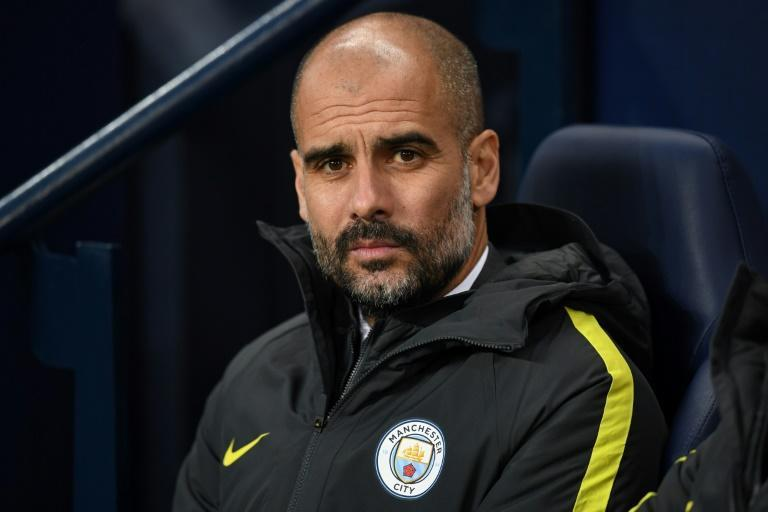 Pep Guardiola took over at Manchester City in 2016