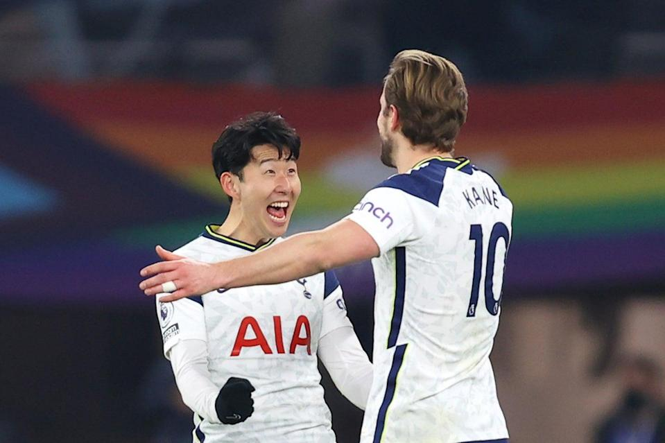 <p>Kane and Son have been key for Spurs</p> (Getty Images)
