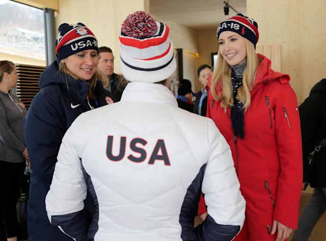 <p>Ivanka Trump visits the USA House on February 24, 2018 in Pyeongchang-gun, South Korea. (Photo by Marianna Massey/Getty Images) </p>