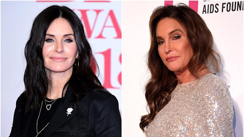 Courteney Cox surprised to find out she looks like Caitlyn Jenner