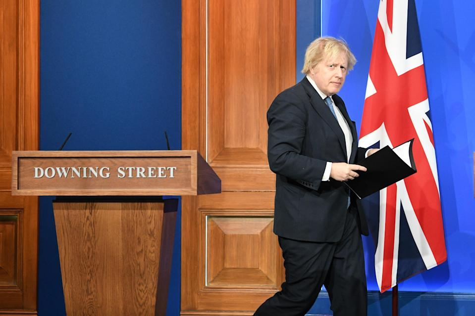 Prime Minister Boris Johnson has so far rejected all calls for a second Scottish independence referendum (Stefan Rousseau/PA)