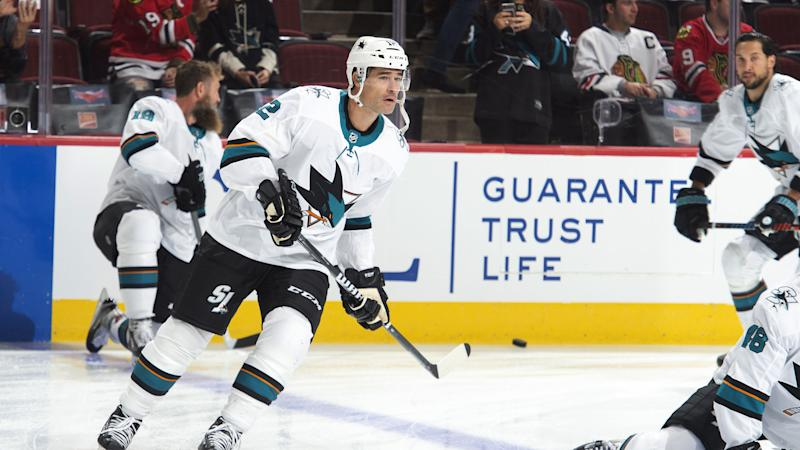 Patrick Marleau's return to the San Jose Sharks went just as well as you'd possibly imagine. (Bill Smith/NHLI via Getty Images)