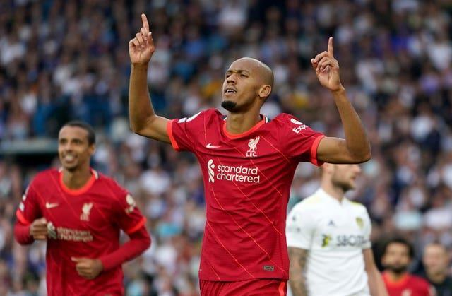 Fabinho played - and scored - for Liverpool against Leeds after an agreement was reached to allow him to play