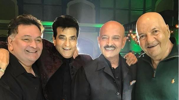 Jeetendra's Birthday Pics with Friends is a Major Throwback
