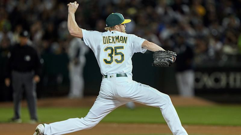 A's, free-agent reliever Jake Diekman agree to two-year contract