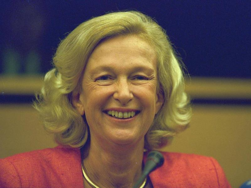 Fontaine oversaw the adoption of the euro during her tenure (Getty)