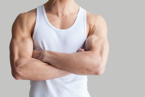 It doesn't matter how muscly you are (Getty Images/iStockphoto)