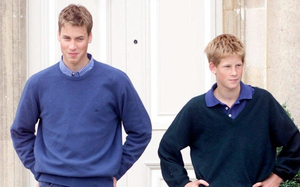 From a young age, William and Harry had very different personalities - The Scotsman