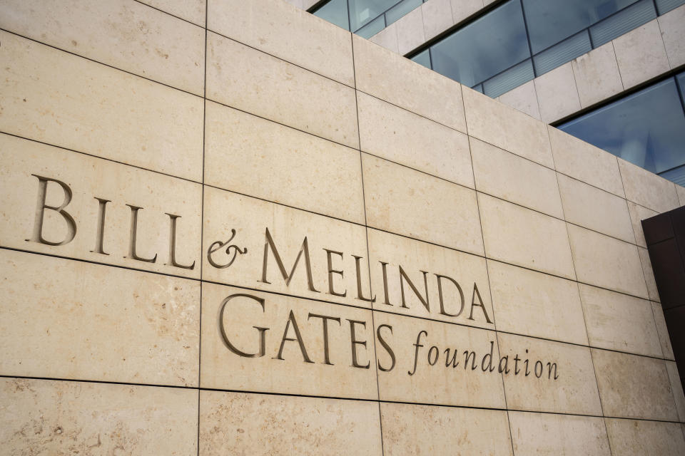 SEATTLE, WA - MAY 04: The exterior of the Bill and Melinda Gates Foundation is seen on May 4, 2021 in Seattle, Washington. Bill Gates and Melinda Gates announced their divorce yesterday, raising questions about the future of their foundation. (Photo by David Ryder/Getty Images)