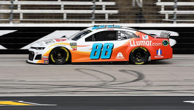 Alex Bowman took over the No. 88 car for Dale Earnhardt Jr. in 2018. (AP)