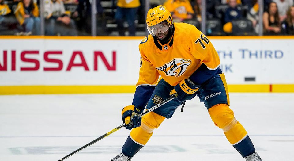 P.K. Subban is headed to New Jersey. (Getty)