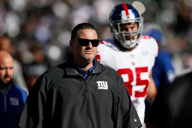 Ben McAdoo, last season. (Getty)