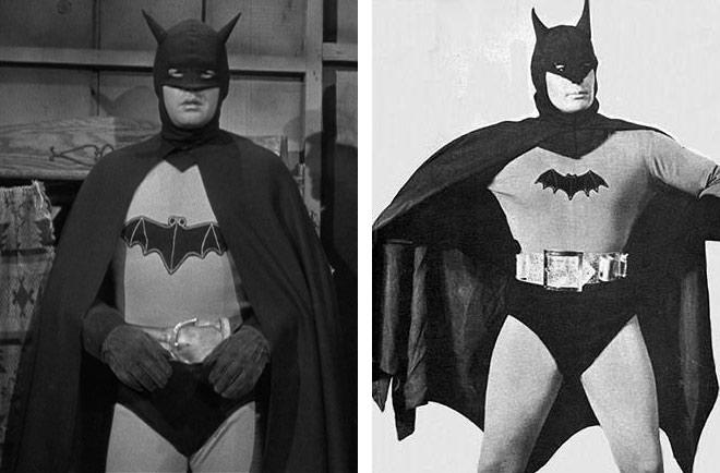 Lewis Wilson and Robert Lowery – Perhaps the least known big screen Batmen are Lewis Wilson and Robert Lowery. Wilson and Lowery have the distinction of being the first actors to play Batman in a live-action production, having both starred as the Caped Crusader in serial films produced between 1943 and 1949. The earliest Bat-serials were little more than low-budget anti-German/Japanese propaganda films (they were produced during the Second World War), but their popularity nevertheless laid the foundation for future Batman projects.