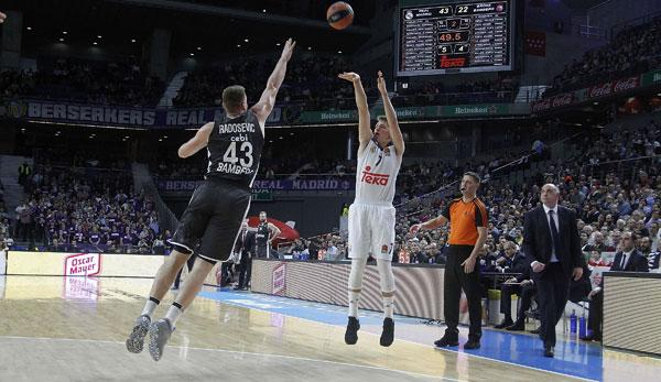 Basketball: Euro League: Alle Infos zu Brose Bamberg gegen Real Madrid
