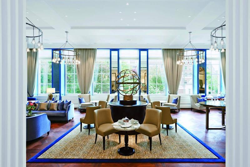 Waldorf Astoria Amsterdam has a Michelin-starred restaurant and original features (Waldorf Astoria Amsterdam)