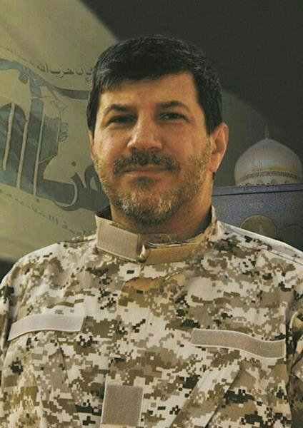 This undated photo released by the Hezbollah Media Relation Office on Wednesday, Nov. 4, 2013, shows Hassan al-Laqis, described by Hezbollah as one of the founding members of the group suggesting he was a high-level commander close to the party's leadership. Al-Laqis was gunned down Wednesday outside his home in southern Beirut, security officials said. Hezbollah blamed Israel for the killing, something an official there quickly denied. (AP Photo)