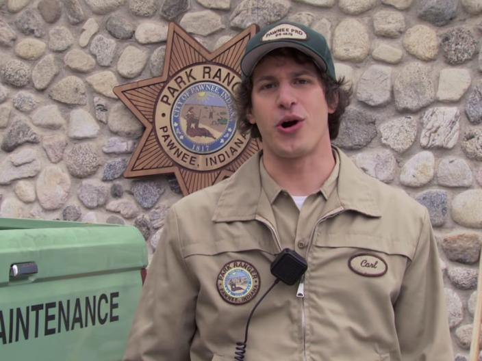 andy samberg parks and rec