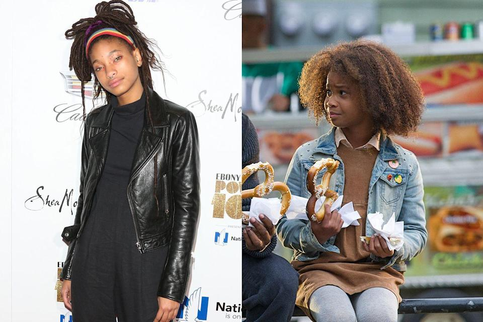 """<p>The Will Smith-produced Annie remake was originally intended as a star vehicle for Smith's daughter, Willow. <a href=""""http://www.etonline.com/movies/130196_Will_Smith_Explains_Why_Willow_Smith_Dropped_Out_of_Annie"""" rel=""""nofollow noopener"""" target=""""_blank"""" data-ylk=""""slk:Will revealed"""" class=""""link rapid-noclick-resp"""">Will revealed</a> to an audience at Temple University why that didn't happen: """"Willow had such a difficult time on tour with [her song] 'Whip My Hair' and she said, 'You know Daddy, I don't think so,' and I said, 'Baby, hold up!' I said, 'No, no, no, listen, you'll be in New York with all of your friends… You will be singing and dancing,' and she looked at me and said, 'Daddy, I have a better idea, how about I just be 12.'"""" <em>Beasts of the Southern Wild</em> breakout <a href=""""https://en.wikipedia.org/wiki/Quvenzhan%C3%A9_Wallis"""" rel=""""nofollow noopener"""" target=""""_blank"""" data-ylk=""""slk:Quvenzhané Wallis"""" class=""""link rapid-noclick-resp"""">Quvenzhané Wallis</a> took over and earned a Golden Globe nomination.</p>"""