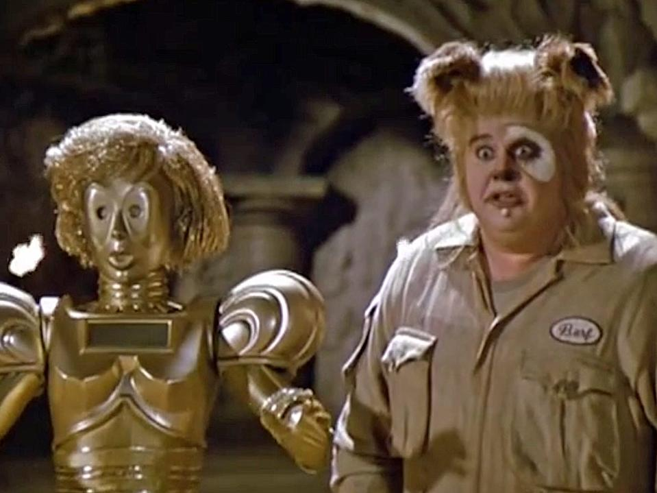 Dot Matrix, Spaceballs
