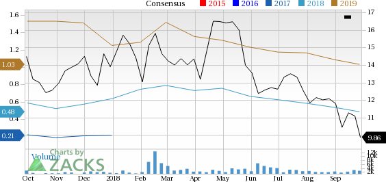 Ring Energy (REI) has witnessed a significant price decline in the past four weeks, and is seeing negative earnings estimate revisions as well.
