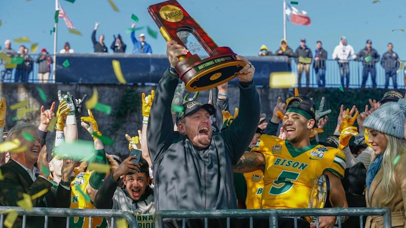 No doubt again as North Dakota State a unanimous No. 1