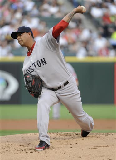 Quintana dominates as White Sox beat Red Sox 3-1