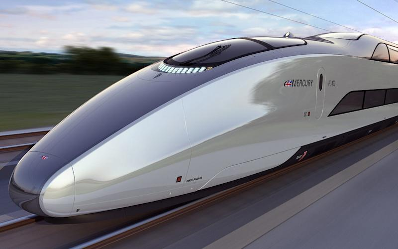 London to Birmingam HS2 Mercury Luxury Train