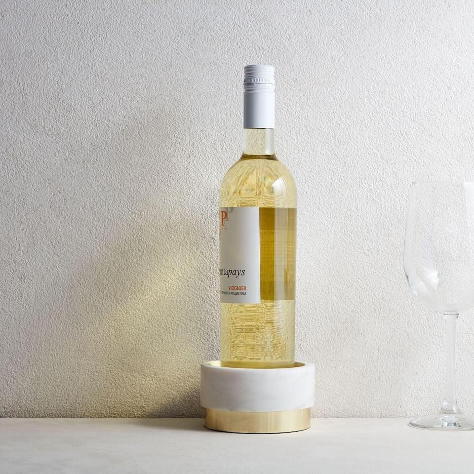 <p>This <span>Marble Wine Coaster</span> ($20) will look good on your kitchen counter.</p>