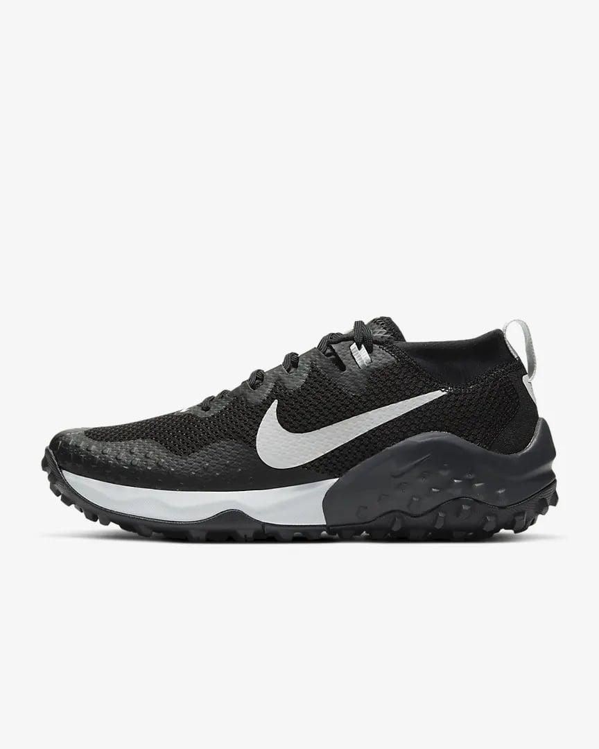 <p>If you want an all black sneaker, this <span>Nike Wildhorse 7</span> ($130) is for you. You won't see as much dirt covering them from the trails.</p>