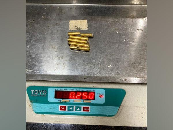 Air Intelligence Unit of Kozhikode Airport have seized 250 grams of gold from a passenger on Monday. (Photo/ANI)