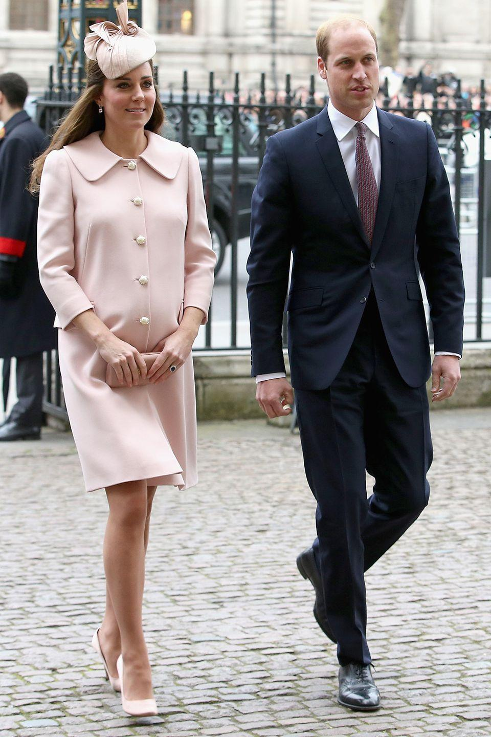 """<p>Even Prince William and Kate haven't broken this tradition yet. It's <a href=""""http://www.bbc.com/news/uk-22976895"""" rel=""""nofollow noopener"""" target=""""_blank"""" data-ylk=""""slk:rumored"""" class=""""link rapid-noclick-resp"""">rumored</a> they didn't even know Prince George's gender themselves. </p>"""