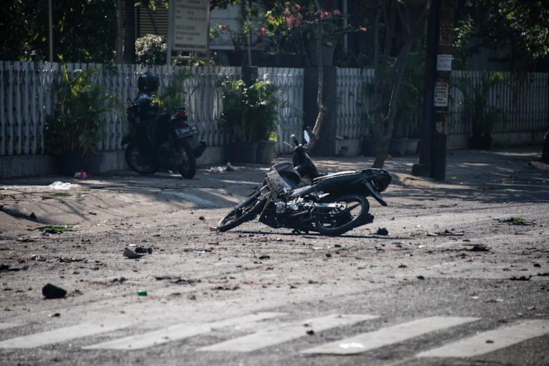 Multiple bomb attacks kill eight in Indonesia`s second largest city