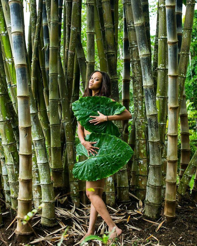 <p>The supermodel chose to honor Mutha Earth with an exceptional photoshoot.</p>