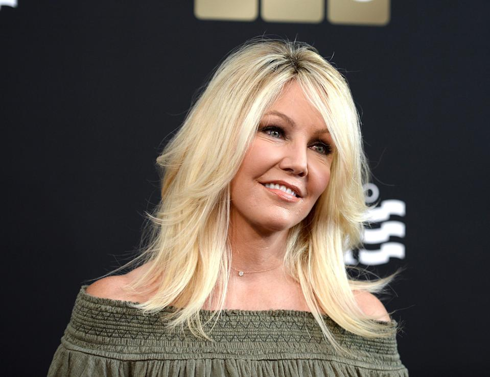 Heather Locklear has reportedly been hospitalized after threatening to kill herself. (Photo: Amanda Edwards/Discovery via Getty Images)