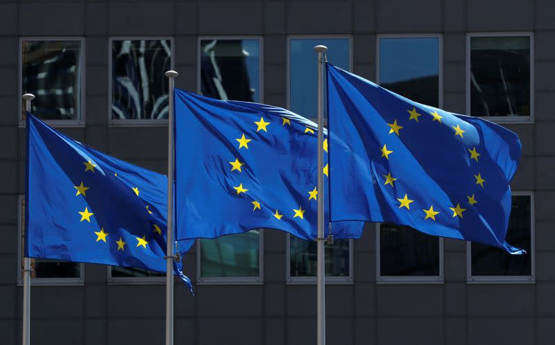 EU pushes for deal on mass economic stimulus though gaps remain