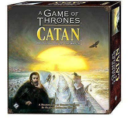 """<p><strong>Catan Studio</strong></p><p>amazon.com</p><p><strong>$44.75</strong></p><p><a href=""""https://www.amazon.com/dp/B07746H7R2?tag=syn-yahoo-20&ascsubtag=%5Bartid%7C10054.g.34600467%5Bsrc%7Cyahoo-us"""" rel=""""nofollow noopener"""" target=""""_blank"""" data-ylk=""""slk:Buy"""" class=""""link rapid-noclick-resp"""">Buy</a></p><p>Same rules as regular Catan, but in this iteration, you get the satisfaction of telling Cersei it was <em>you</em>.</p>"""