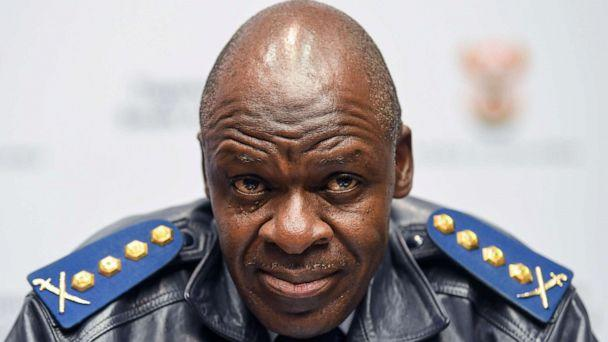 PHOTO: South Africa's National Police Commissioner Gen. Khehla Sitole in Cape Town, South Africa. (Foto24/Gallo Images via Getty Images, File)