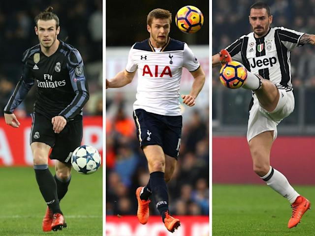 Gareth Bale could be on the move, Eric Dier won't while Leonardo Bonucci 'could be on his way to Manchester City'
